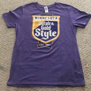 Minnesota Vikings themed men's t-shirt